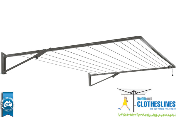 Wall Mounted Folding Clotheslines North Brisbane
